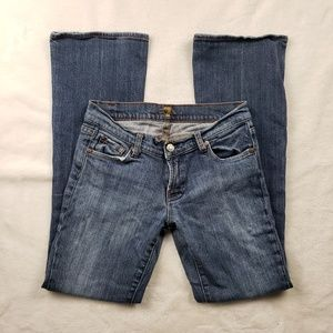 7 for All Mankind bootcut jeans!